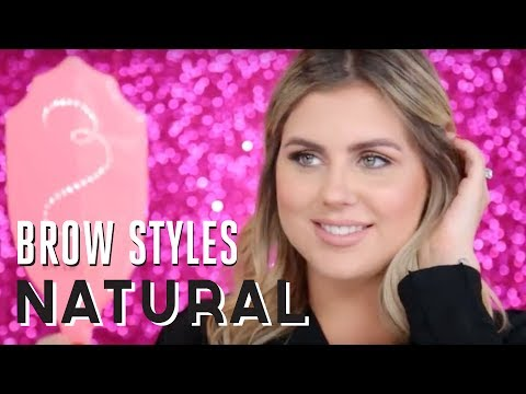 BROW STYLE TUTORIAL | how to create natural brows
