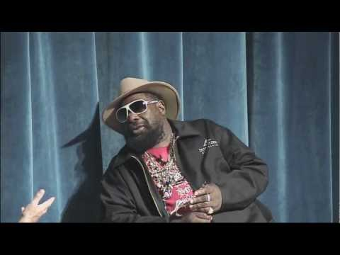 George Clinton discusses his musical influences (July 2011)