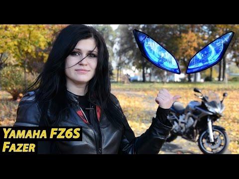 Обзор Yamaha Fazer 600 FZ6S Фазер тест-драйв Моторейтинг