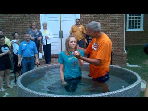 Allison Owen Baptism