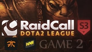 Fnatic.eu vs Na`Vi @RaidCall Dota 2 League Season 3 (Game 2)