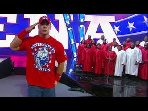 WWE WRESTLEMANIA 27 JOHN CENA ENTRANCE(HD)