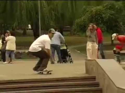 KAMUFLAGE* TEAM - Skate. TownTour 2007 Ukraine Video