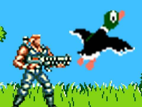 Contra vs. Duck Hunt Video