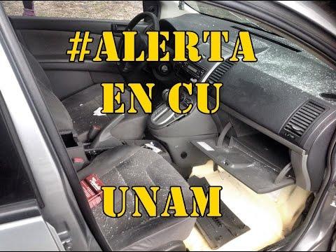 Testimonio de la agresión a balazos, hoy en CU, UNAM.  #ALERTA