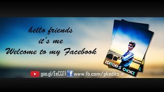 Facebook Cover Designing || How to Create facebook cover in photoshop cc || Latest 2018 Tutorial