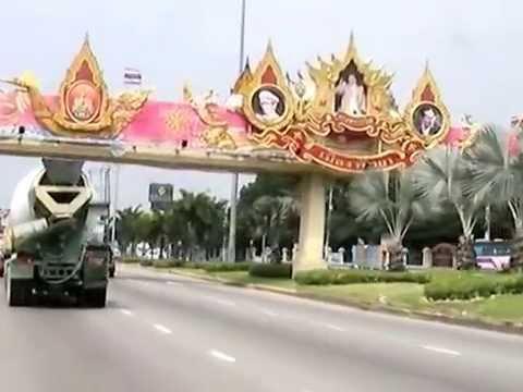 Driving on Sukhumvit Road in Pattaya Part 7