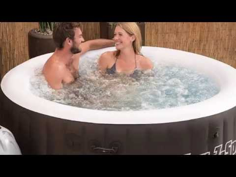 price best choice bestway 54124 lay z spa miami inflatable hot tub