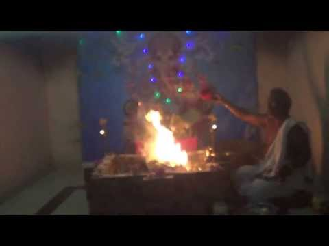 Ganesha Chaturthi Maha Ganapathi Homam Part 3 Vedicfolks video