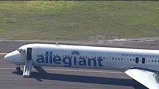 "Fired Allegiant pilot defends ""unnecessary evacuation"" call"