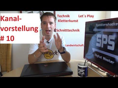 Kanalvorstellung #10 Technik Let´s Plays Coole Schnitttechnik Landwirtschaft