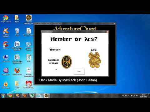 Como uasar AQWorlds member and ac's generator v4 1