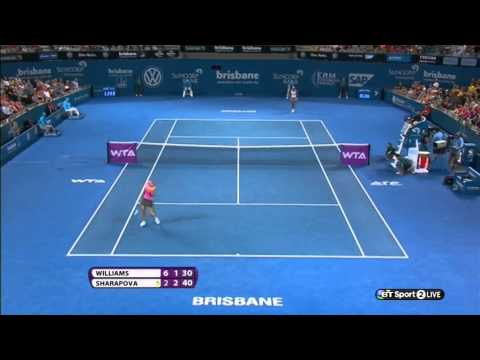 Brisbane 2014 - Serena Williams [1] vs Maria Sharapova [3] SF - Match Highlights