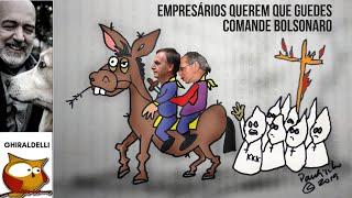 Empresários querem que Guedes comande Bolsonaro