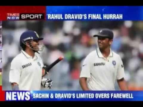 Sachin Tendulkar vs Rahul Dravid in Last CLT20