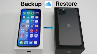 How to Backup Your Old iPhone and Restore to iPhone 11, 11 Pro, and 11 Pro Max