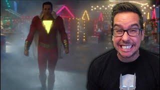 Shazam! Teaser Trailer Reaction