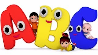 ABC SONG | ABC Songs for Children - Nursery Rhymes & Farm Animals Songs