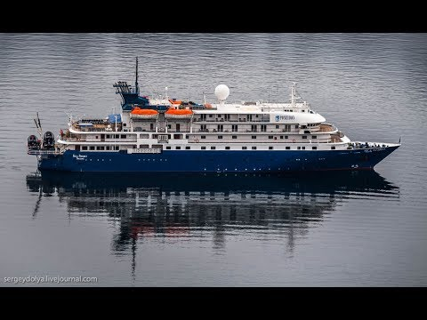 Экскурсия по самому роскошному экспедиционному судну
