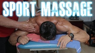 Natural Bodybuilding series 119 : Sport Massage by Jan Post