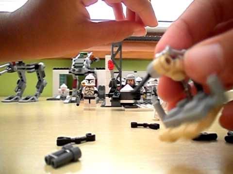 como hacer un droideka de lego