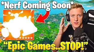TFUE Explains Why Epic Games NERFS and VAULTS Everything He Does! - Fortnite Funny Moments