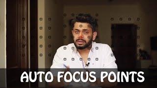 DSLR AUTOFOCUS EXPLAINED | AUTO FOCUS POINTS | PHOTOGRAPHY TUTORIALS IN HINDI