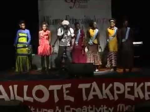 THE HOUSEPARTY SHOW AT ALLIANCE FRANCAISE ACCRA