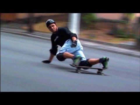 Skate Downhill Slide Atlantica Ville. Partiu Downhill