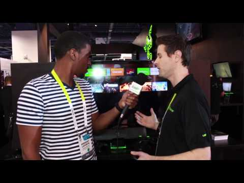 Razer Forge TV Inteview with Travis Furst CES 2015