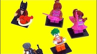 49 Minutes LEGO Batman Power Rangers Beauty and the Beast Belle Toys Finger Family & Cartoon Movies