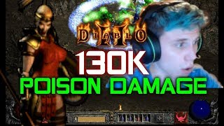130,000 Poison Damage Javelin Amazon - Diablo 2 - Xtimus