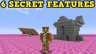 Minecraft 6 Aquatic SECRET FEATURES in PS4 / Xbox 360