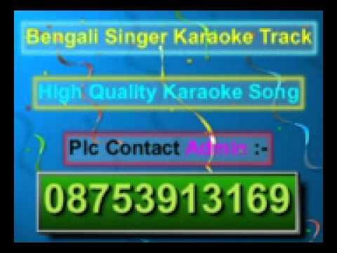 Kon Se Alor Swapna Niye Karaoke Asha Bhosle video