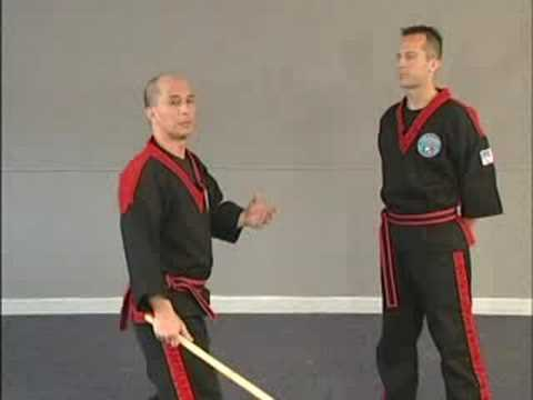 Bruce Chiu Teaching the 12 Basic Strikes of Modern Arnis`