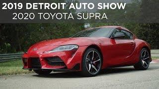 2019 Detroit Auto Show | 2020 Toyota Supra | Driving.ca