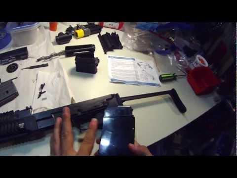 VZ 58: Installing AR-15 mag well adapter