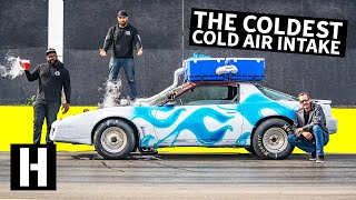 Dry Ice Cold Air Intake: Does Frozen Air Make More Horsepower?