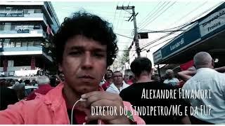 Sindipetro/MG na luta em defesa do ex-presidente Lula, em São Bernardo do Campo (SP)