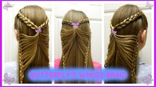 Butterfly's Wings Braid / Trenza Alas de Mariposa / Bonita Hair Do
