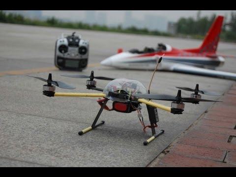 Amazing Low Cost Aerial Filming and FPV Quadcopter