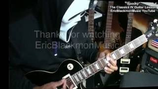 How To Play SPOOKY Classics IV On Guitar Chords Lesson EricBlackmonMusicHD YouTube
