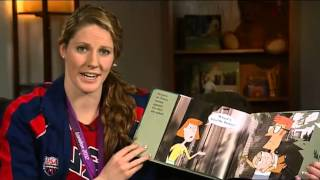 "Missy Franklin reads ""Knuffle Bunny"" - One Book 4 Colorado"