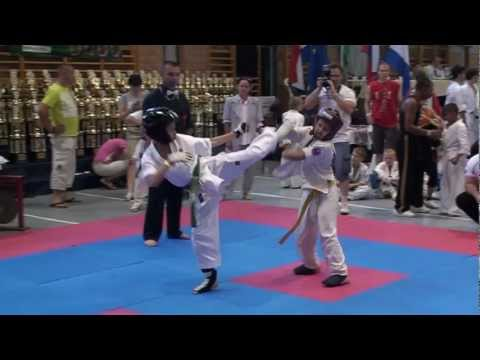 Kyokushin Vs Taekwondo   Best Of Bela Berei 2011-2012 video