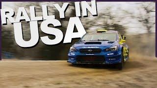 First tests with Subaru Motorsports USA