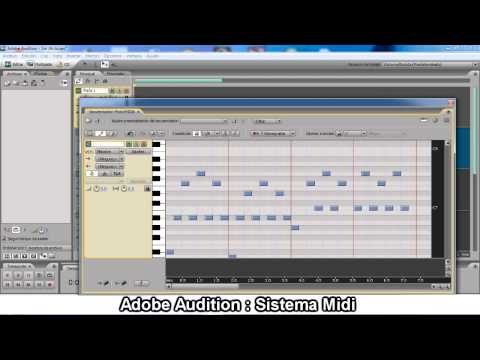 Adobe Audition - Sistema Midi (Tutorial)