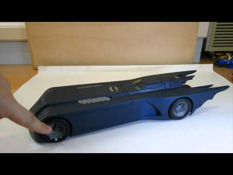 Batman The Animated Series Batmobile Review + BONUS 1