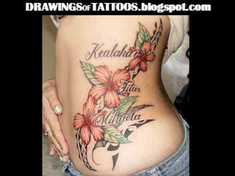 Hibiscus Flower Tattoo Designs, Hibiscus Tattoo