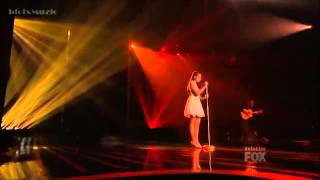 Carly Rose Sonenclar - Somewhere Over The Rainbow - The X Factor USA 2012 (Live Show 4)