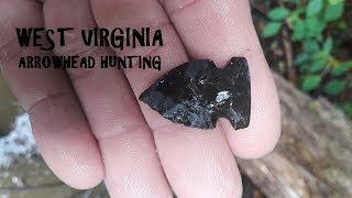 West Virginia River Treasure ARROWHEAD HUNTING Archaeology American History